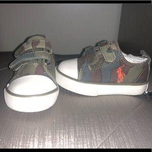 Ralph Lauren Polo Toddler Sneakers.